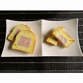 パンの中に美味しいハム入り プチポークブリオッシュ